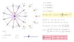 cos(π/n)cos(2π/n)cos(3π/n) ... cos(nπ/n) = ?