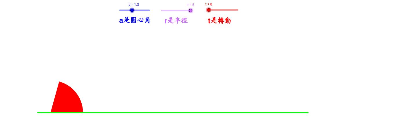 扇形滾動2