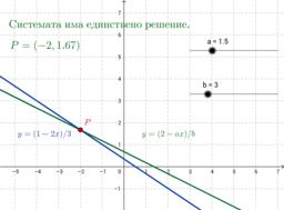 Система от линейни уравнения