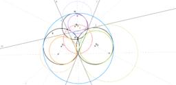 Příklad 6: Trojice kružnic procházející jedním bodem