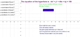 Section 10.5-Graphing Hyperbola