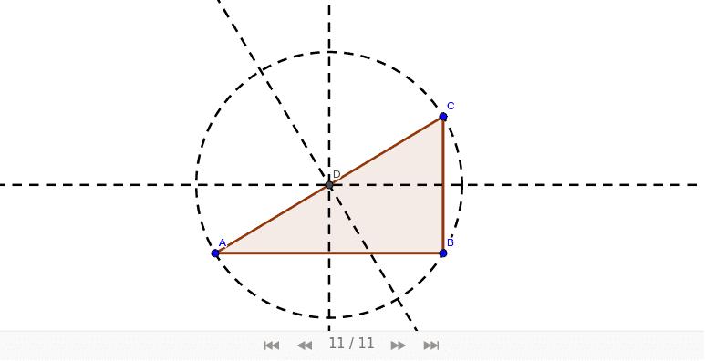 Geogebra geometría - Ejercicio 3