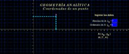 Geometría analítica ( coordenadas 1 )