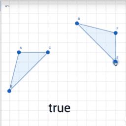 Congruencia entre figuras