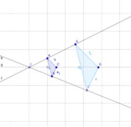 F3 相似の中心・相似の位置(定義)