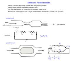 Series and Parallel Resistors