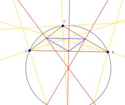 PO Klas 3v: construeren in een driehoek