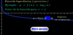 Función logarítmica base 1/4 ( ejercicios )