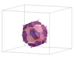Truncation of the icosahedron->Soccer ball (football)