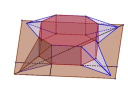 折り紙八角形テント(全体計量)