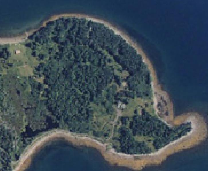 Eastern Oak Island Map