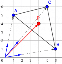 barycentrische coördinaten