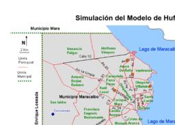 El Modelo de Huff: Una implementación en Geogebra