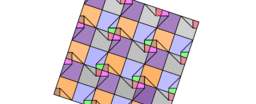 Pythagorean Theorem by Tessellation # 59 Tiling