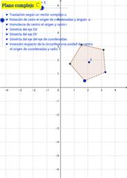 Transformaciones geométricas complejas