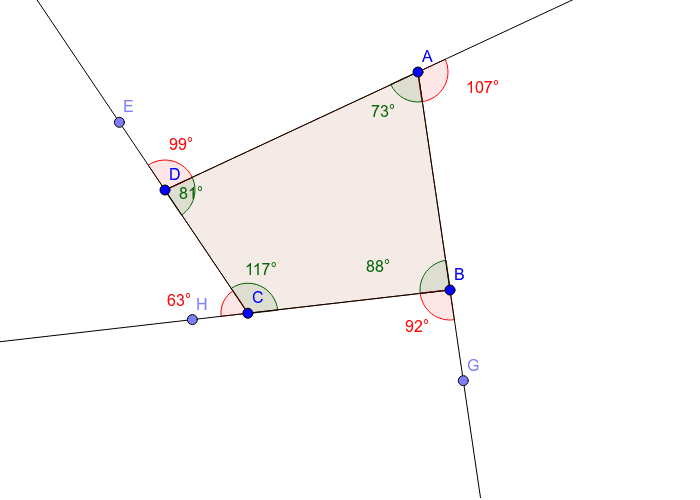 Quadrilateral - 4 sides