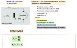 Ejemplo motor en derivación