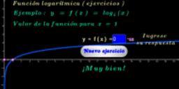 Función logarítmica base 4 ( ejercicios )