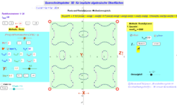Querschnittsplotter implizite algebraische 3D Flächen (3_1b)