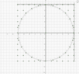 Circletrig Geoboard Template
