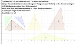 Areal af trekant 2