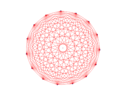 String Art 15 Point Circle Solution