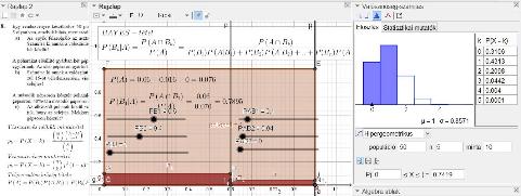 Hipergeometrikus, binomiális eloszlás, teljes valószínűség tétele, Bayes-tétel