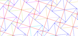 Pythagorean Theorem by Tessellation # 19 Tiling