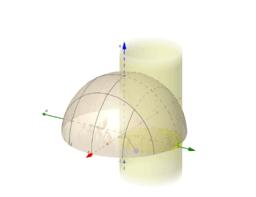 """integral triple cilíndrica ( mover deslizador   """"a"""" )"""