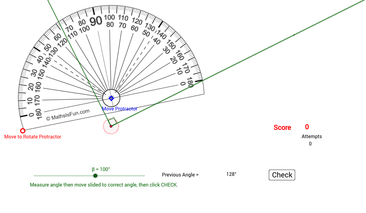 Lindy edit of Toh Wee Teck's Protractor.  Score point if ± 1 of angle and get a bonus point for exact angle.