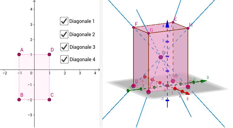 Quader Diagonale Press Enter to start activity