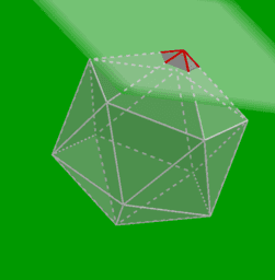 Geometry of a soccer ball / football
