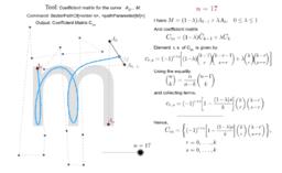 Path Coefficient Matrix