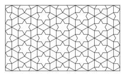 Islamski wzór geometryczny / Islamic pattern
