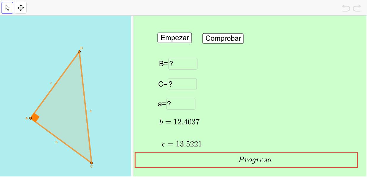 Expresa los ángulos en radianes. Usa cuatro cifras decimales. Press Enter to start activity