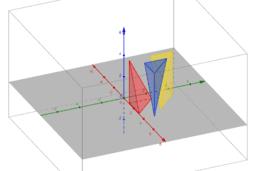 Demonstração do volume da pirâmide