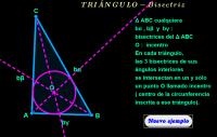 Triángulo ( bisectriz )