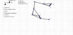 Sociograma de 9 puntos computación