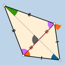 Diagonals of Kite Animation