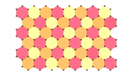 1) Hexagon tessellation