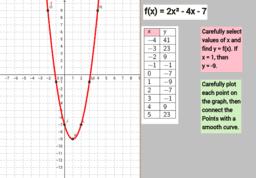 Quadratic Lesson Creator Part 3