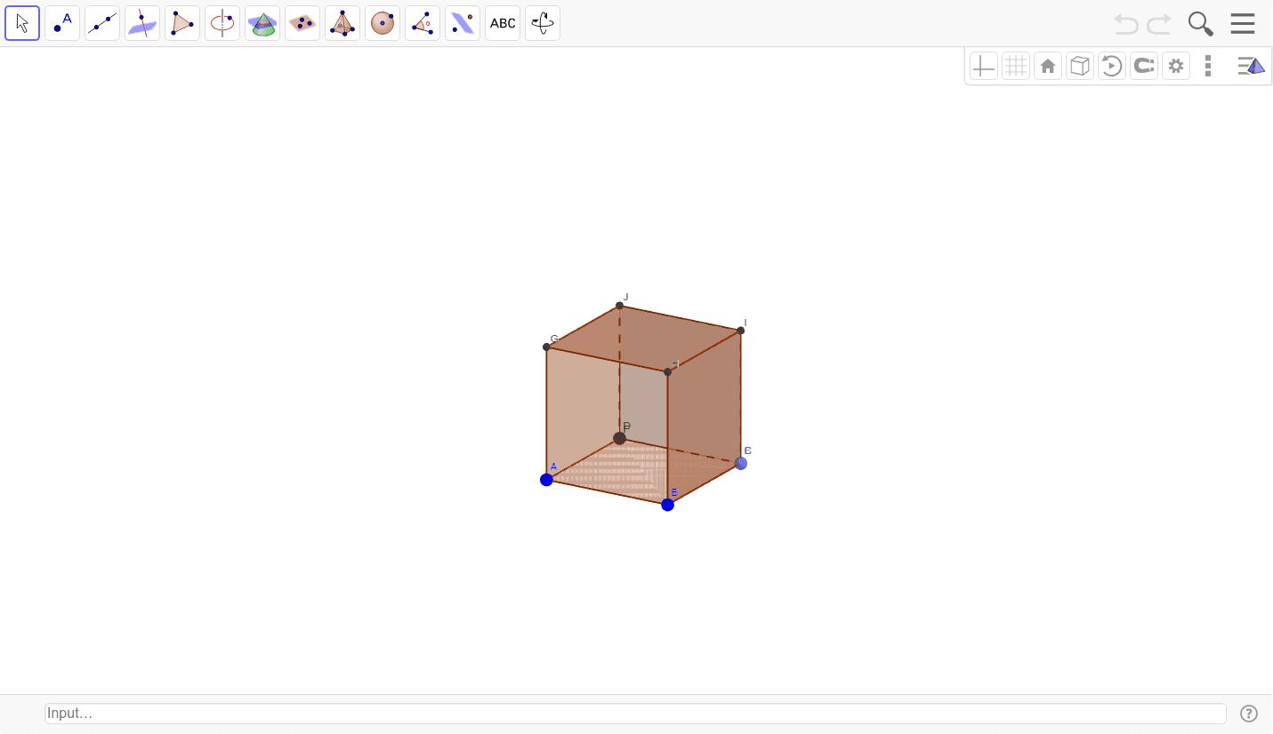Osserva il cubo