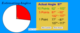 Estimating Angles Game