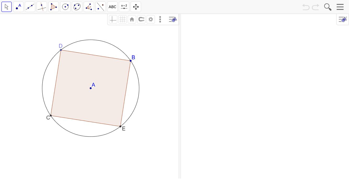 Copiar el Dibujo-GeoGebra en la Vista Gráfica 2 Presiona Intro para comenzar la actividad