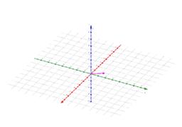 3D-GeoGebra avaruuden projektiovektoreista