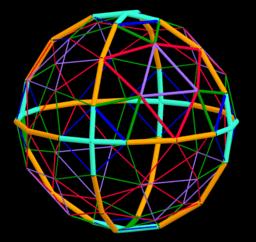4V-Alternate Octahedron Geodesic Dome