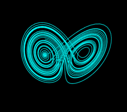 Lorenz attractor I