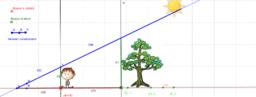 Copia de Ejercitacion interactiva teorema de Thales