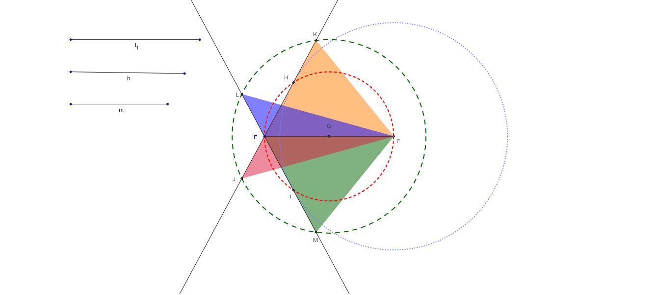 Construcción de triángulos con ciertas condiciones