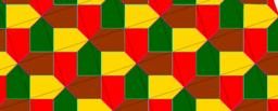 Pythagorean Tessellation # 32 Tiling